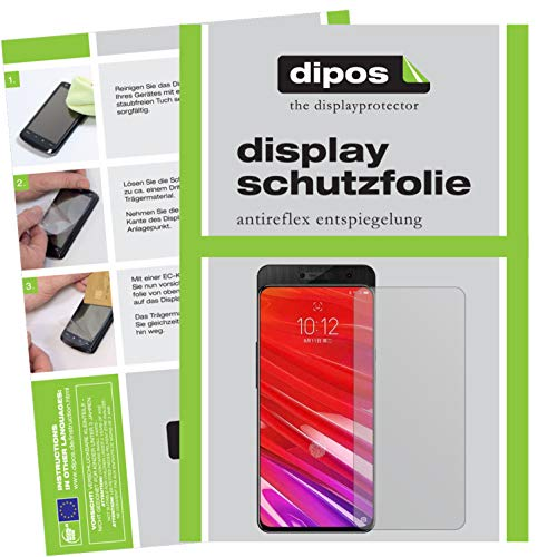 dipos I 4X Schutzfolie matt passend für Lenovo Z5 Pro GT Folie Bildschirmschutzfolie (2X Vorderseite + 2X Rückseite)