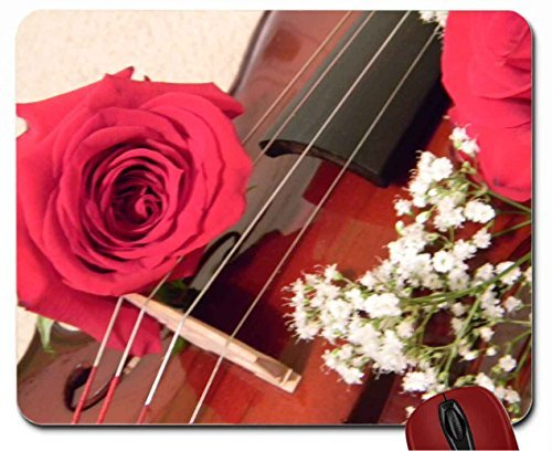 violin-with-roses-mouse-pad-computer-mousepad