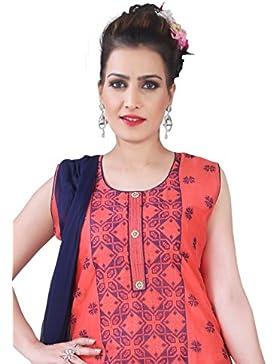 Onorevoli Readymade Dritto Si Adatta Alle Donne Salwar Kameez Tuta Pakistano Indiano Abbigliamento Casual Dritto...