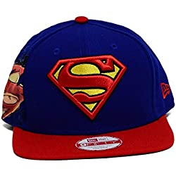 DC Comics Superman 950 Hero Sider Snapback Gorra De Béisbol
