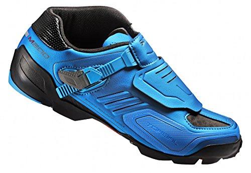 Shimano SHM200C430B, Zapatillas de Ciclismo de Carretera Unisex Adulto, Azul (Blue), 43 EU