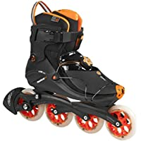 Powerslide Inline-Skate VI Flyte - Patines en línea, color Negro, talla 42