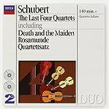Schubert: Last 4 Quartets by Franco Rossi, Piero Farulli, Elisa Pegreffi, Paolo Borciani (1995-04-11)