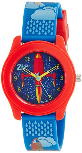 Zoop 16003PP01J Travel Analog Watch For Girls