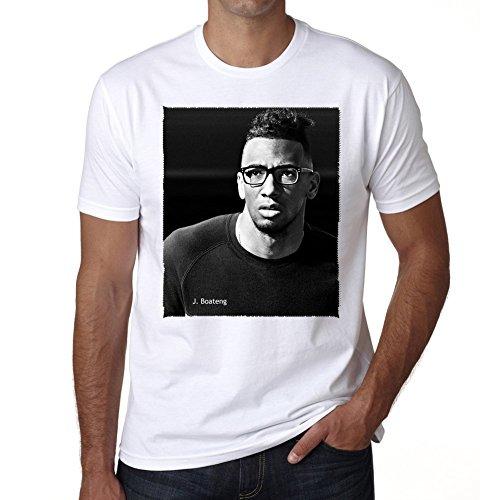 Jrme Boateng Herren T-shirt - Weiß, S, t shirt herren,Geschenk