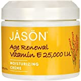 Jason Moisturizing Creme Vitamin E Age Renewal Fragrance Free - 25000 IU - 4 oz by Jason Natural Products