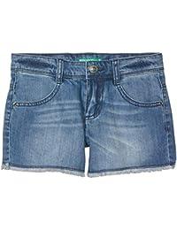 United Colors of Benetton Shorts Pantalones Cortos para Niñas