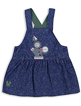 The Essential One - Bebé Infantil Niñas Pinafore Vestido - Azul de Mar - EOT333
