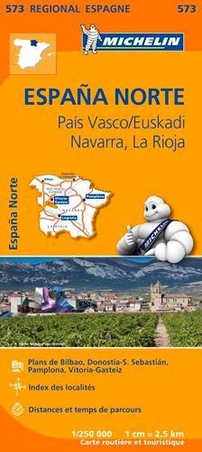 Carte Espagne Nord Pays Basque Michelin par Collectif MICHELIN