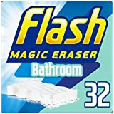 Flash gomme magique de salle de bain à récurer, Lot de 16, 2pièces