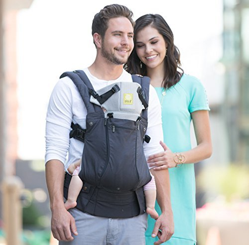 LILLEbaby Complete All Seasons 6-in-1 Baby Carrier - Charcoal/Silver Lillebaby ERGONOMIC: Perfect for newborns. No insert needed. COMFORT: Voted most comfortable baby carrier. SIX (6) POSITIONS: Front inward (fetal, infant, or toddler settings), front outward, hip or back carry. 7 - 45 lbs. 2