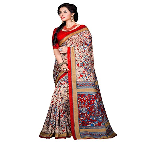 SAREES(Women's Clothing Sarees for Women latest Color Sarees collection in latest Georgette Sarees with designer Blouse Piece free size beautiful bollywood Sarees for Women party wear offer designer Sarees with Blouse piece Sarees New Collection)  available at amazon for Rs.199