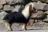 600 D KLETT Regendecke Schwarz Winterdecke Outdoordecke Shetty Pony Decke 65 70 75 80 85 90 95 100 cm HIER 85 cm