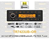 Continental TR7423UB-OR 24 Volt - MP3-Autoradio mit Bluetooth