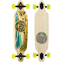 "Sector 9 Drop-Thru Bamboo Lookout Mini Complete Downhill Longboard Skateboard - 9.25"" x 37.5"" by Sector 9"