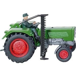 FENDT farmer 2S avec faucheuse latérale