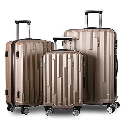 Flieks-Hartschale-Trolley-Koffer-Reisekoffer-Zwillingsrollen-Kofferset-3-teilig-Rollkoffer-mit-Zahlenschloss-Handgepck-mit-4-Doppel-Rollen-Hartschalenkoffer-Kofferset-XL-L-M-Set