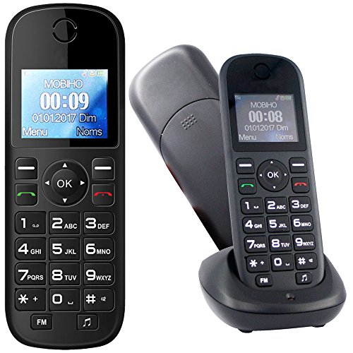 Mobiho-Essentiel Le Classic Mega - Portable pour Personne agée. Idéal pour Un utilisateur Qui Veut Un téléphone de Plus Grande Taille pour téléphoner, la SIMPLICITE. DEBLOQUE Tout OPERATEUR
