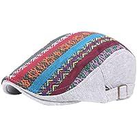 Leisial™ Invierno Boina Caliente Retro Gorro de Algdón Viento Nacional de Mujeres Invierno Sombrero de Viaje Primavera Otoño