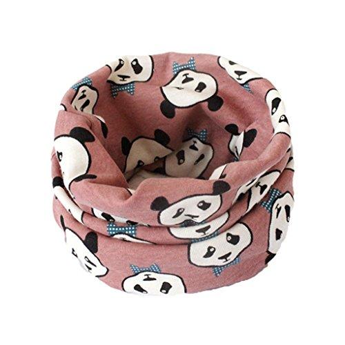 Schal Baby, Kinder Schal Jungen Mädchen Baby Schal Baumwolle O Ring Neck Schals Herbst Winter von Dragon868 (E1) (Mädchen Größentabelle)
