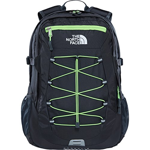 The North Face Borealis Classic Sac à Dos Mixte Adulte, Asphalt Grey/Power Green