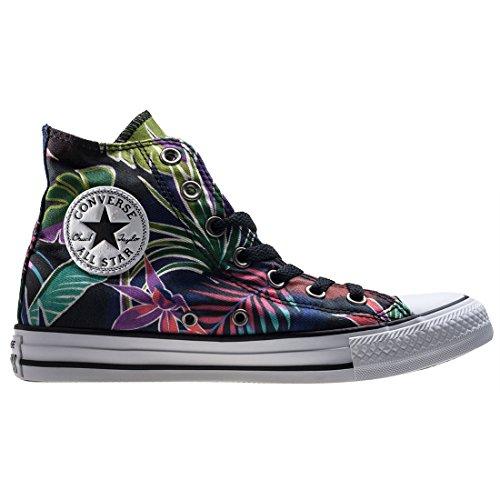 Converse Ctas Hi, Sneakers Femme Multicolore (Fuchsia Glow/menta/white)