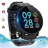 Montre Connectée, Bracelet Connecté Bluetooth Smartwatch Fitness Tracker...