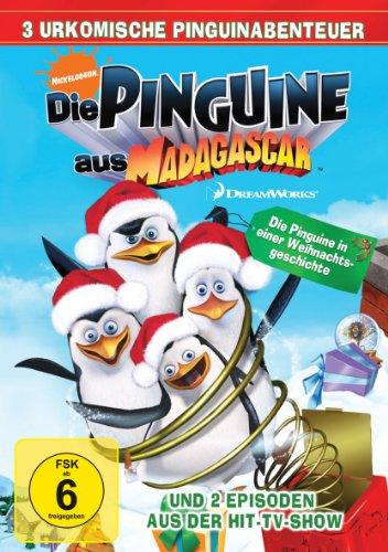 Die Pinguine in einer Weihnachtsgeschichte