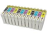 TONER EXPERTE 12 XL Druckerpatronen kompatibel für Epson 16 16XL Workforce WF-2010W WF-2510WF WF-2520NF WF-2530WF WF-2630WF WF-2650DWF WF-2660DWF WF-2750DWF WF-2760DWF WF-2540W WF-2540WF | hohe Kapazität