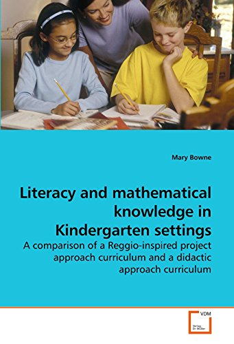 Literacy and mathematical knowledge in Kindergarten settings