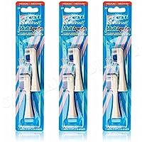 3X Crest Medium Spin Brosse Multi Angle Tête de brosse à dents de rechange Lot de 2