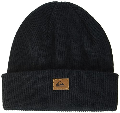 Quiksilver Herren Performed-Beanie For Men, Anthracite-Solid, One Size