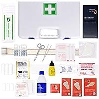Erste-Hilfe-Set Verbandkaste GROß mit 80 Artikel (WASSERSTOFFPEROXID FLASCHE, POVIDON, PHYSIOLOGISCHEN SERUM,... preisvergleich bei billige-tabletten.eu