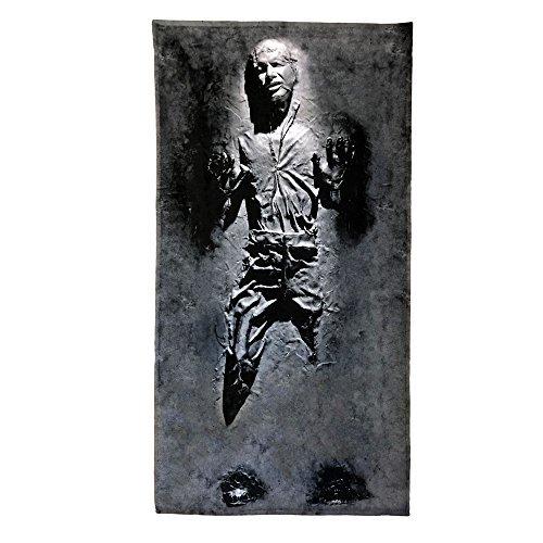 tuch Handtush Han Solo IM Carbonite Filmplakat Star Wars Film (140cm x 70cm) ()