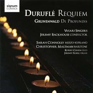 Durufle: Requiem (Vasari Singers/Backhouse)