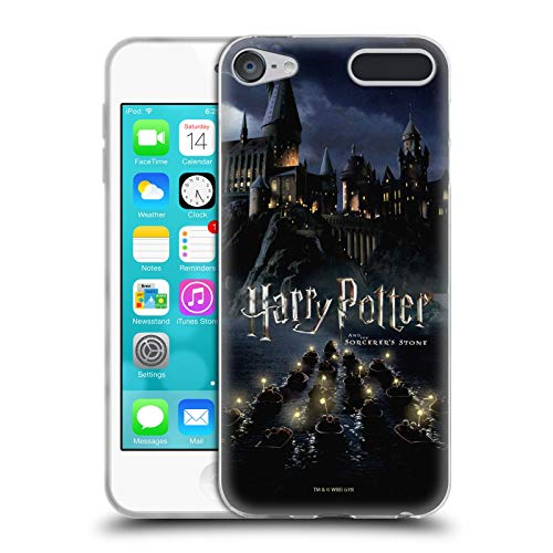 Head Case Designs Offizielle Harry Potter Burg Sorcerer's Stone II Soft Gel Huelle kompatibel mit Apple iPod Touch 6G 6th Gen (Gen Touch Ipod 4. 16gb)