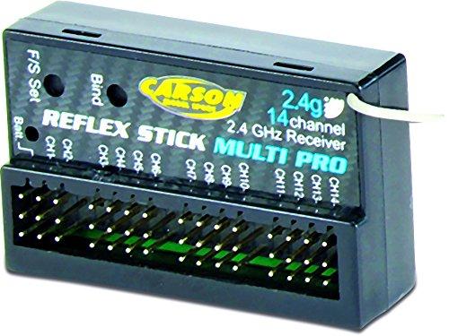 Carson 500501540 - Empfäng Reflex Stick Multi Pro 14K 2.4 GHz