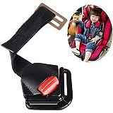 shizak Harnais à 5points Sangle voiture Siège de sécurité pour bébé enfant Clip Boucle Loquet Noir