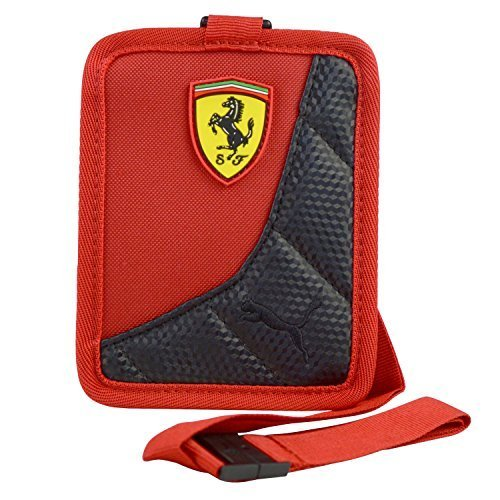 Puma Men's Ferrari Replica Scuderia ID Card Holder H14cm X W11cm Rosso-Black