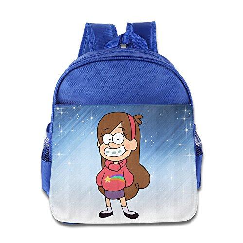 Laptop Pilot Fall (Elf Story-Gravity Falls Mabel Little Kid Baby Jungen Mädchen Kleinkinder Rucksack Tasche Königsblau, Königsblau (Blau) - ELF-CB-9727703-RoyalBlue-29)