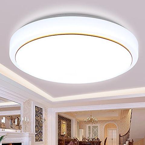 Led luce di soffitto camera da letto round Brief creativo