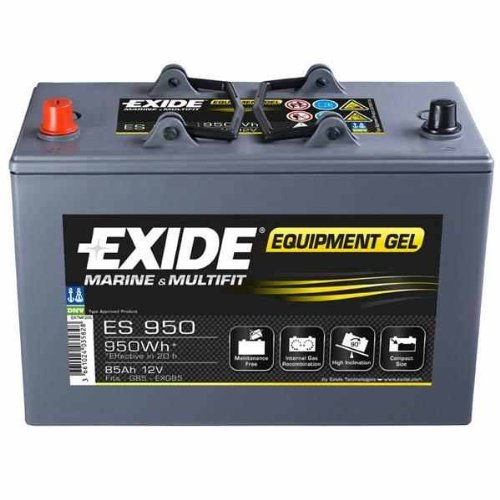 Preisvergleich Produktbild Exide Equipment Batterie Gel ES 950, 28554