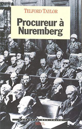 Procureur à Nuremberg