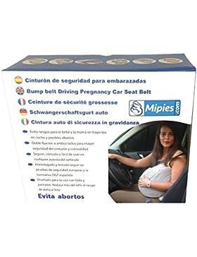 Schwangerschaftsgurt auto ★ Schwangerschaftskissen mit Gurtführungsschlaufen ★ schützt das Risiko der Abtreibung...