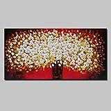 Rincr Handgemalte Blume Ölgemälde Moderne Ölgemälde auf Leinwand Malerei abstrakte Pop-Art billige Moderne Malerei Wandkunst