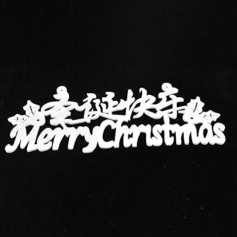 Decorazioni di Natale EPE schiuma Natale ornamenti di vetro porta e finestra adesivi Natale decorazioni adesivi murali di Natale regali di Natale