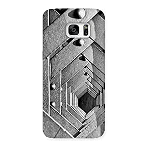 Gorgeous Cage Hexa Back Case Cover for Galaxy S7 Edge
