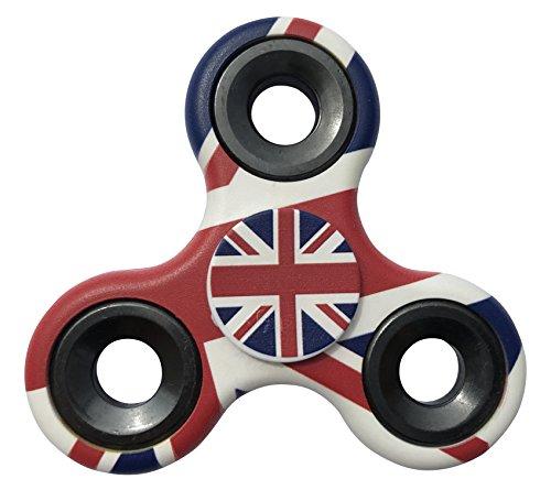 England Flag Tri Fidget Spinner Hand Finger Toy
