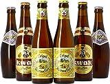 Saveur Bière - Assortiment 6 bières belges (Tripel Karmeliet + Orval + Kwak) - Idée Cadeau