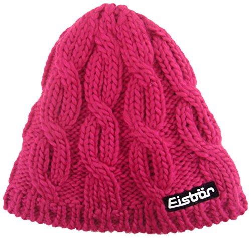 eisbar-anta-bonnet-pour-femme-taille-unique-rose-rose-bonbon